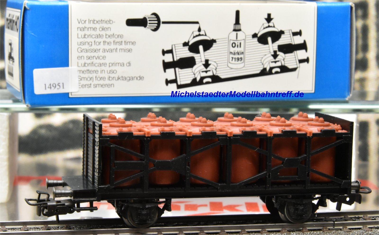 Primex 4587.4 Säure-Behälterwagen,  (14951)
