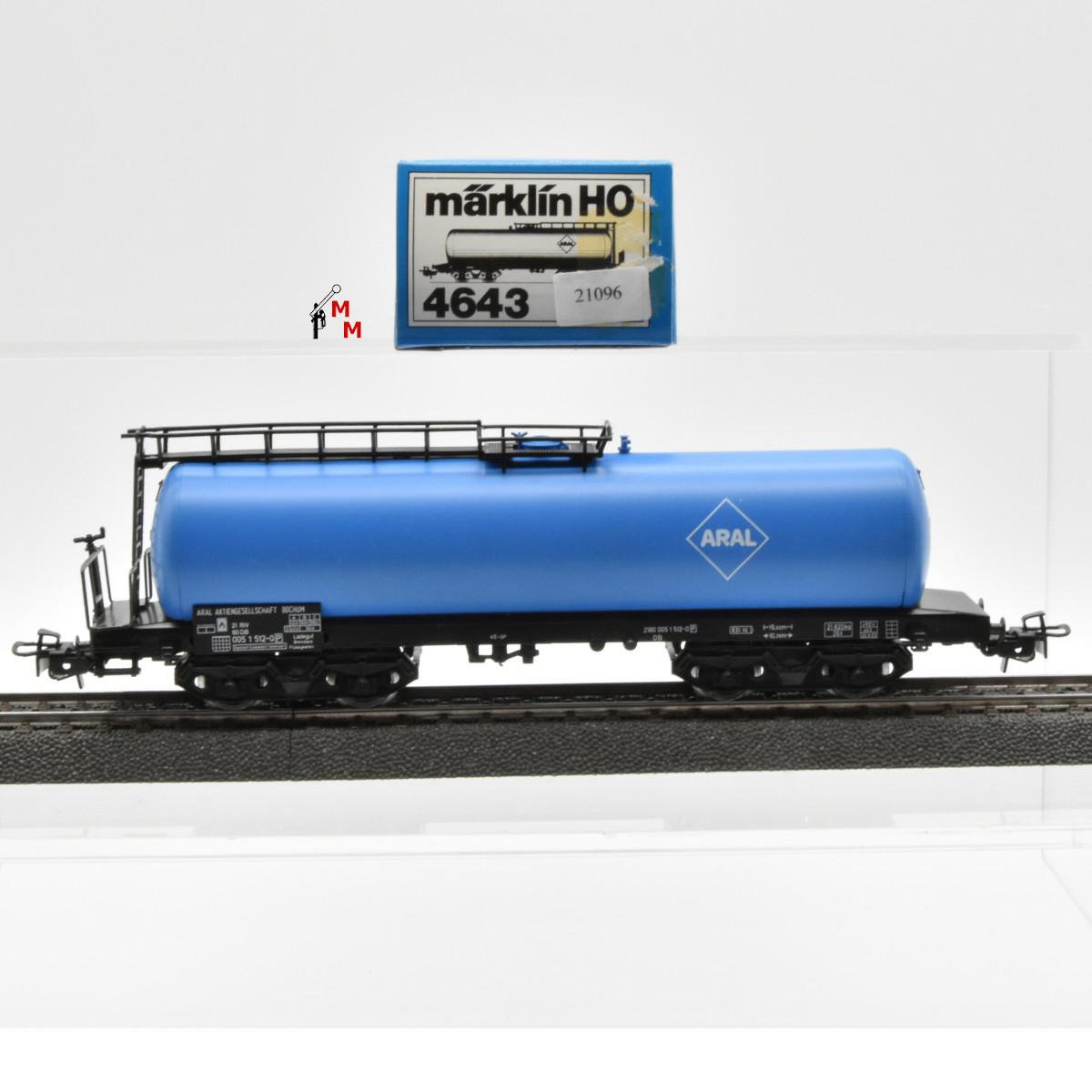 """Märklin 4643.1 Kesselwagen """"ARAL"""", (21096)"""