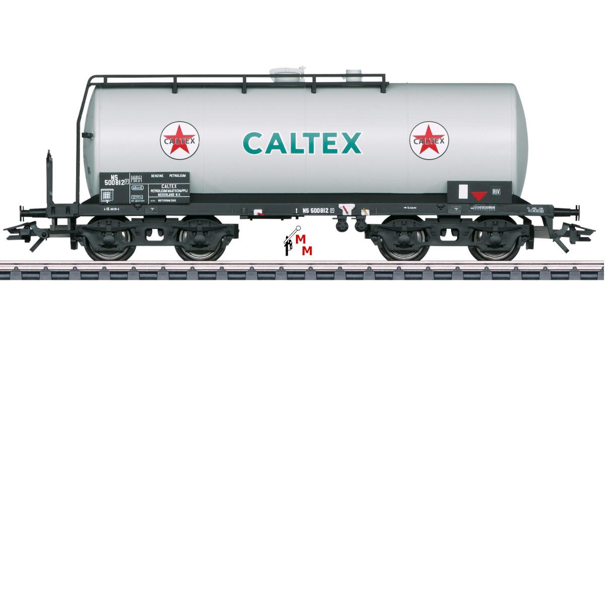 (Neu) Märklin 46537 Einheitskesselwagen CALTEX der NS, Ep.III,