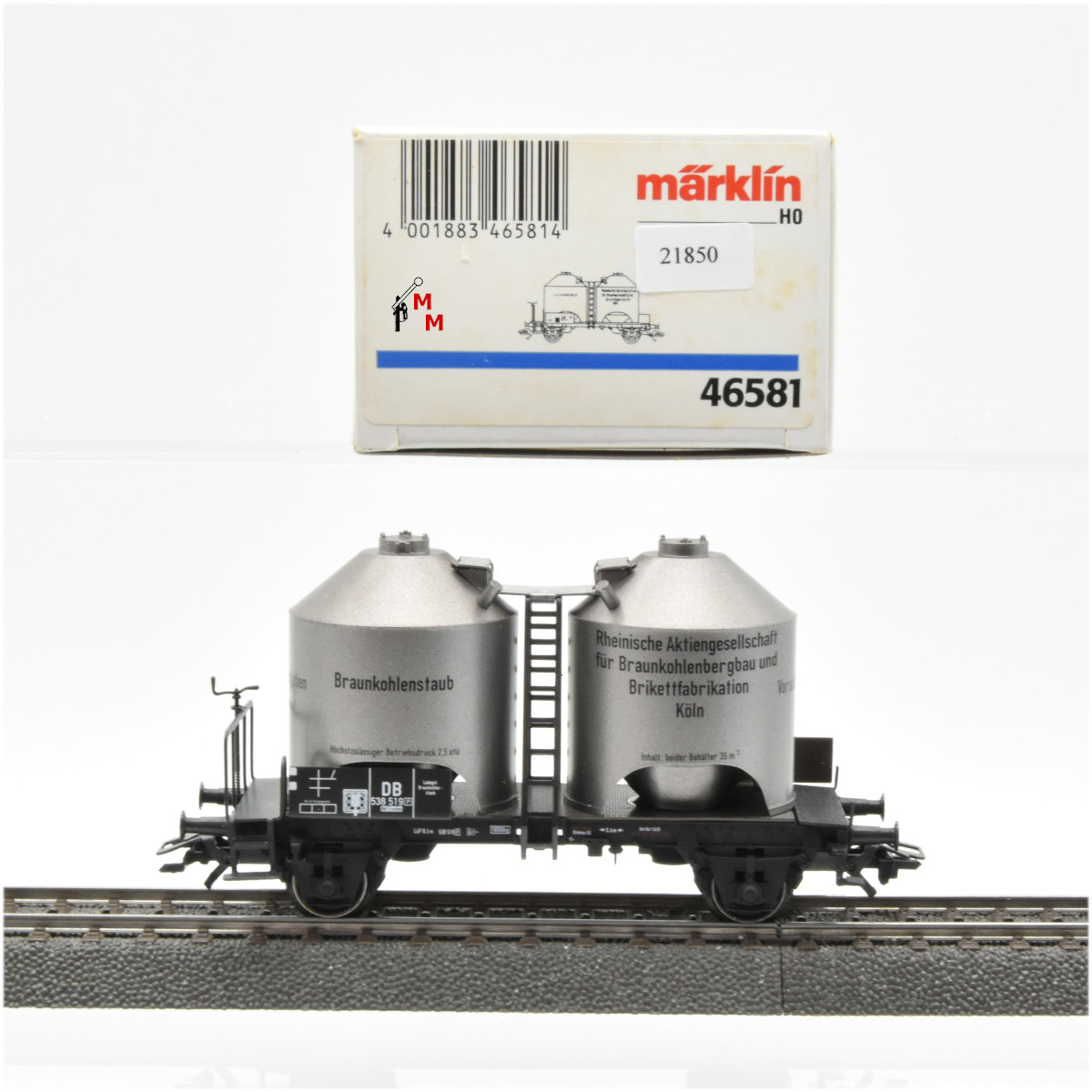Märklin 46581 Kohlenstaubwagen Ep.III, DB, (21850)