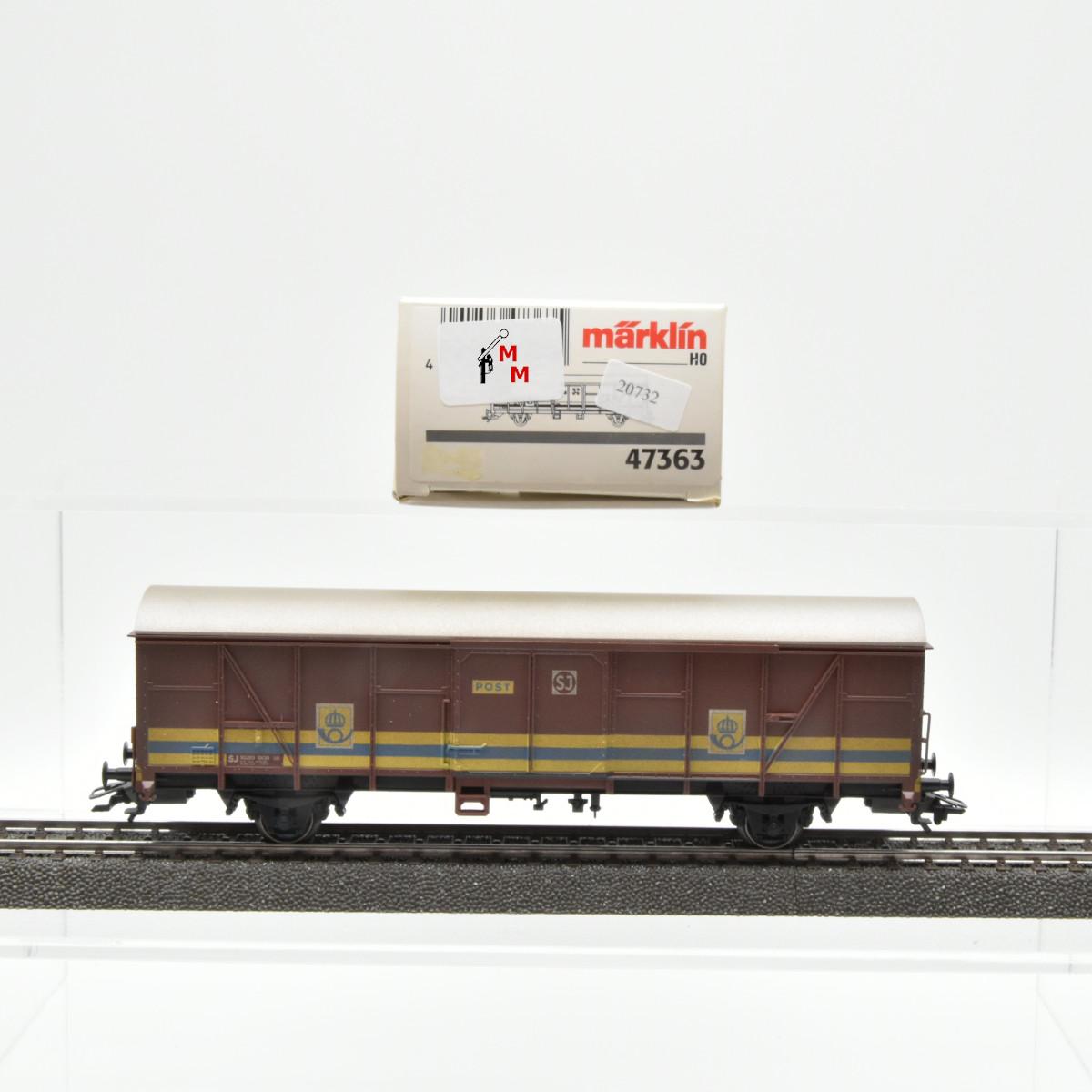 Märklin 47363 Post-Güterwagen der SJ, (20732)