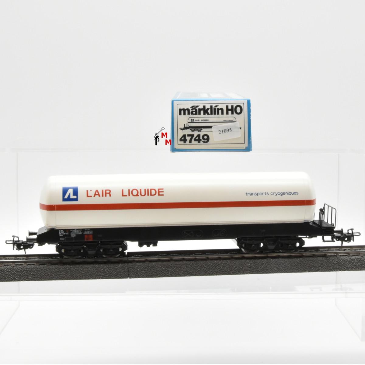"""Märklin 4749.1 Kesselwagen """"L´air Liquide"""", der SNCF, (21095)"""