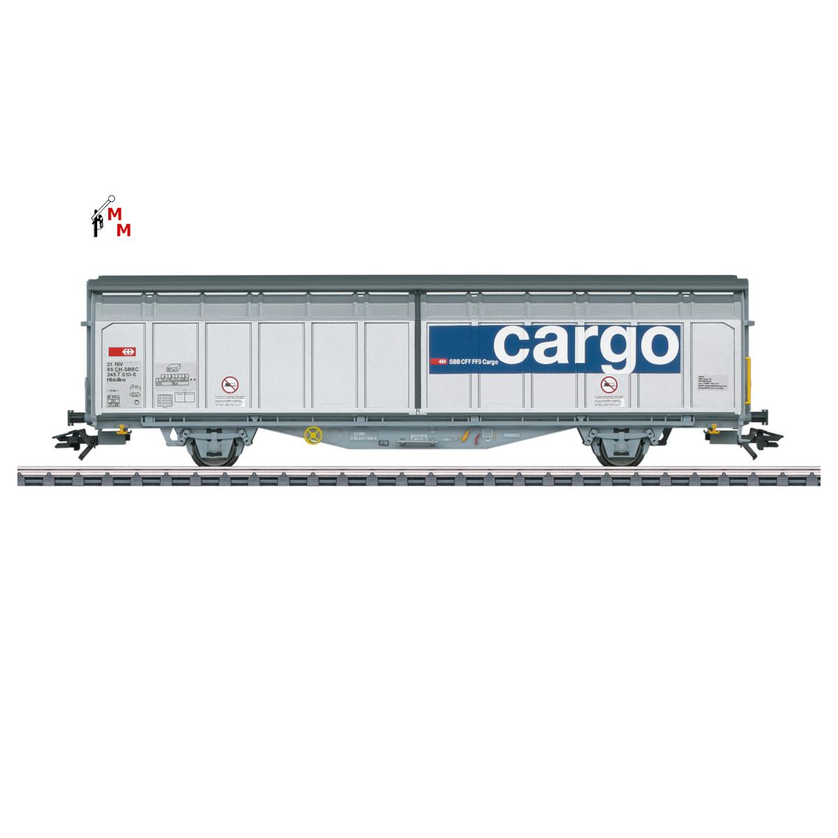 (Neu) Märklin 48015 Schiebewandwagen der SVV Cargo, Ep.VI,