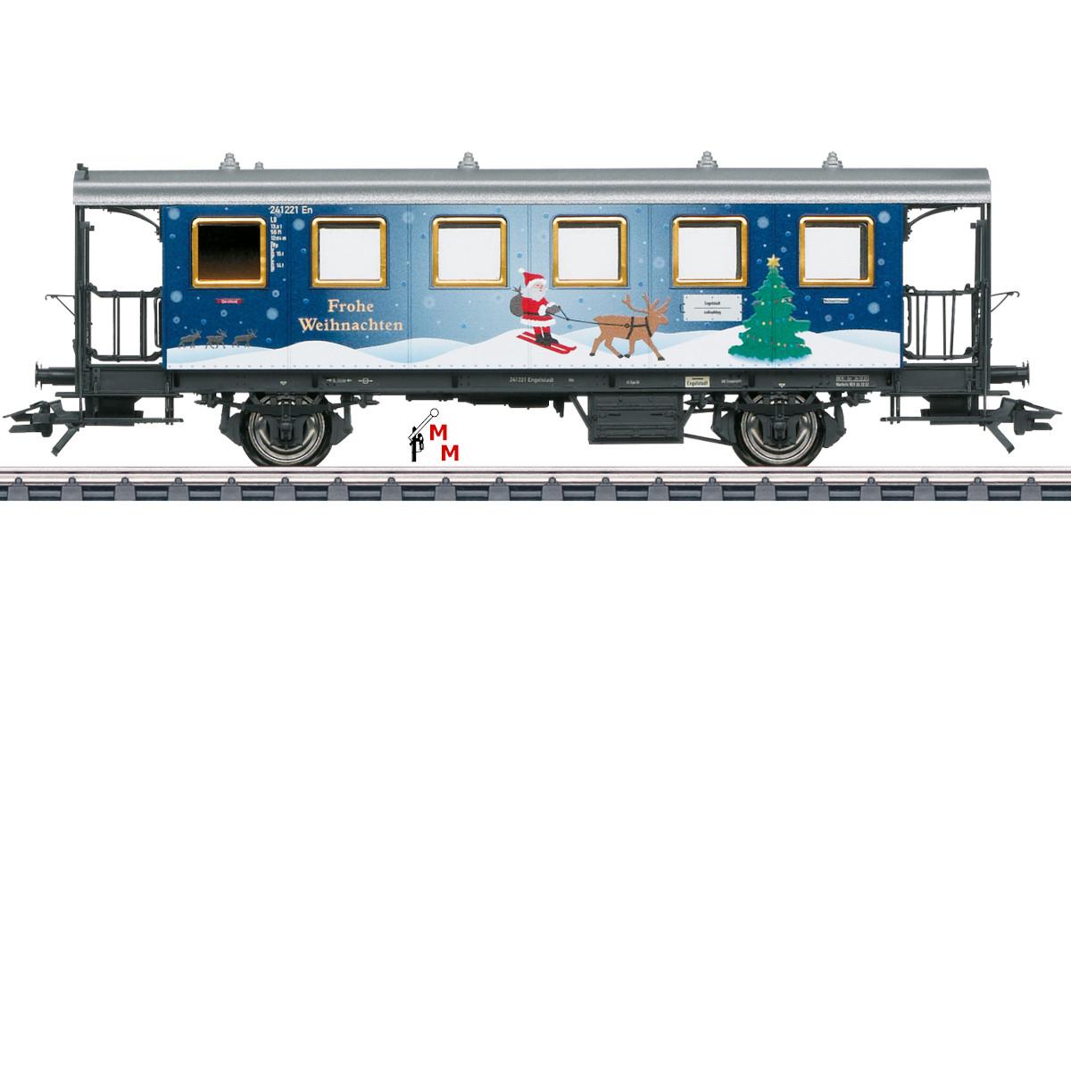 (Neu) Märklin 48421 Weihnachtswagen H0 2021,