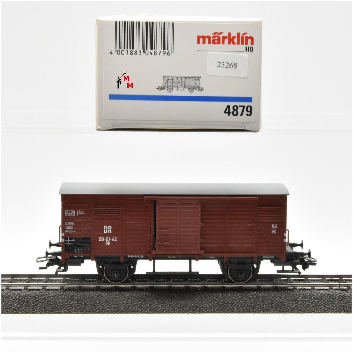 Märklin 4879 Ged. Güterwagen der DR, (23268)