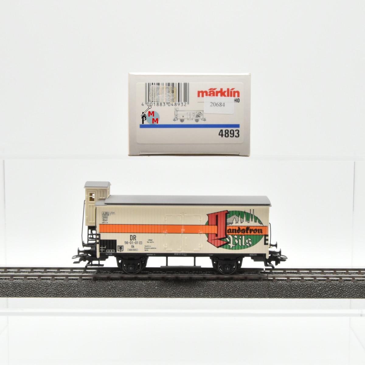 "Märklin 4893 Bierwagen der DR, ""Landskron Pils"", (20684)"