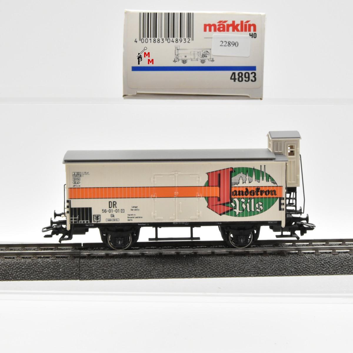 "Märklin 4893 Bierwagen der DR, ""Landskron Pils"", (22890)"