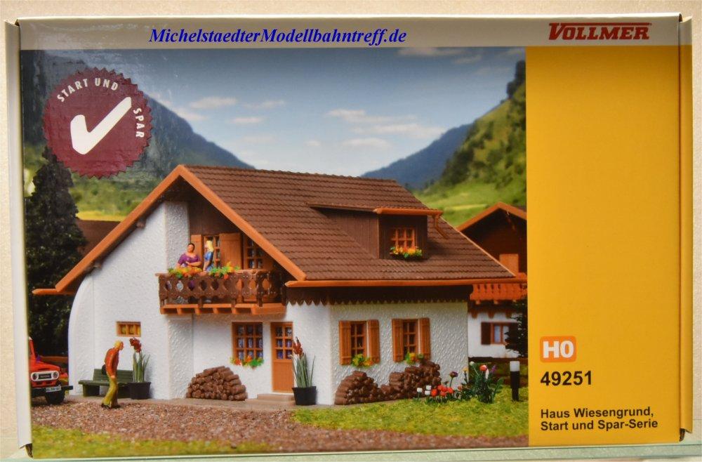 (Neu) Vollmer 49251 Bausatz Haus Wiesengrund,