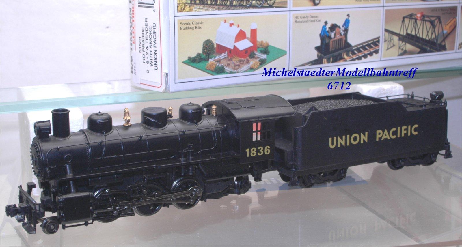 Bachmann 51501 US Dampflok der Union Pacific Railroad, (6712)