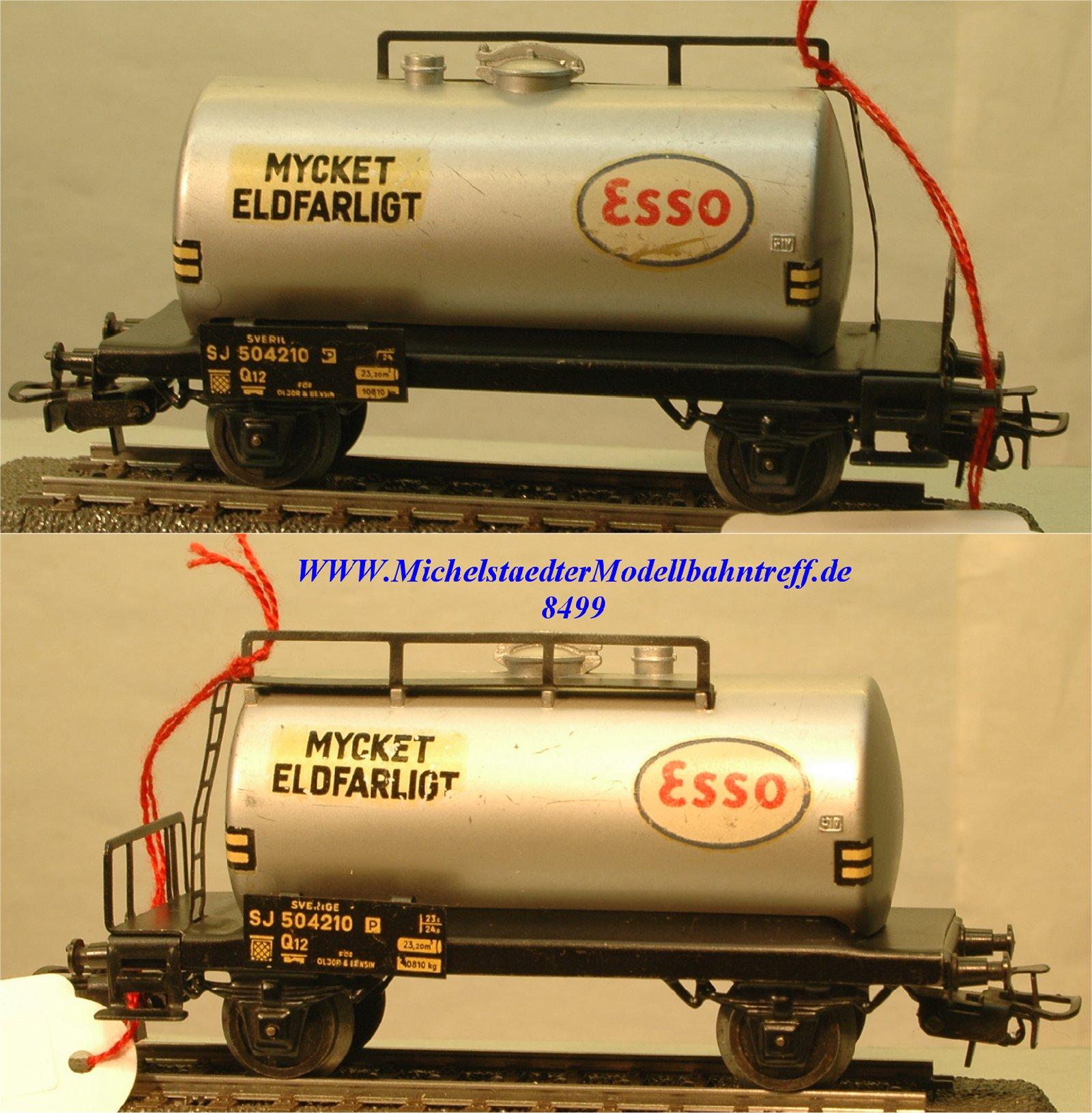 """Märklin 4524.1 Kesselwagen der SJ """"Mycket Eldfarligt"""", (8499)"""