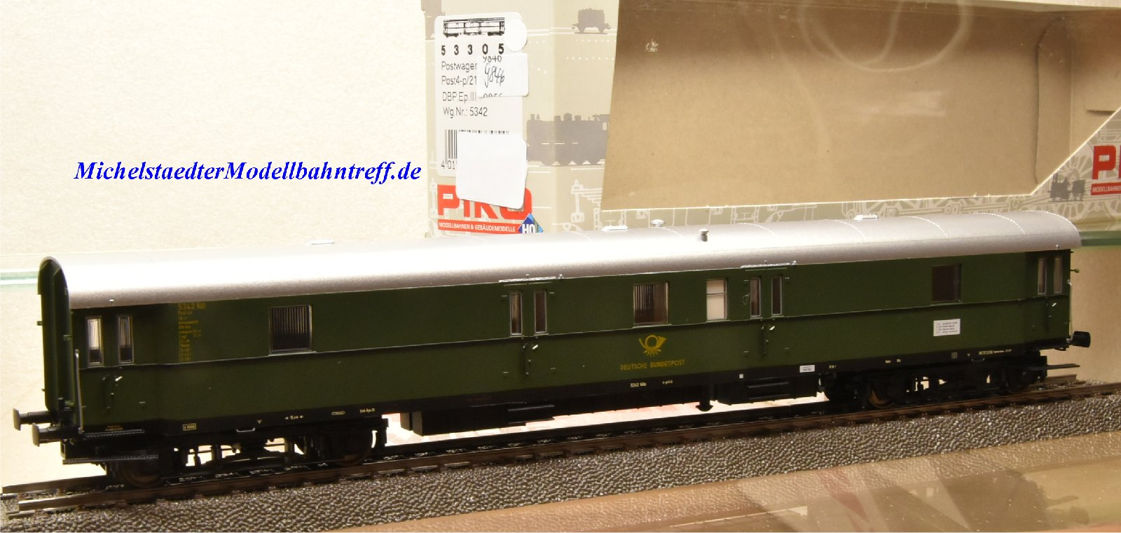 Piko 53305 Postwagen der DBP, Ep.III, (9846)