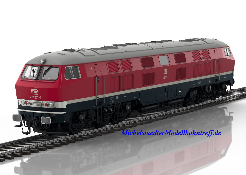 (Neu) Märklin 55322 Spur 1 Diesellok BR 232, DB, Ep.IV,