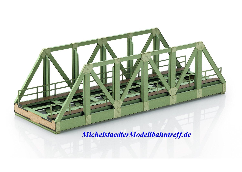 (Neu) Märklin 56298 Spur 1 Bausatz Vorflutbrücke, eingleisig,