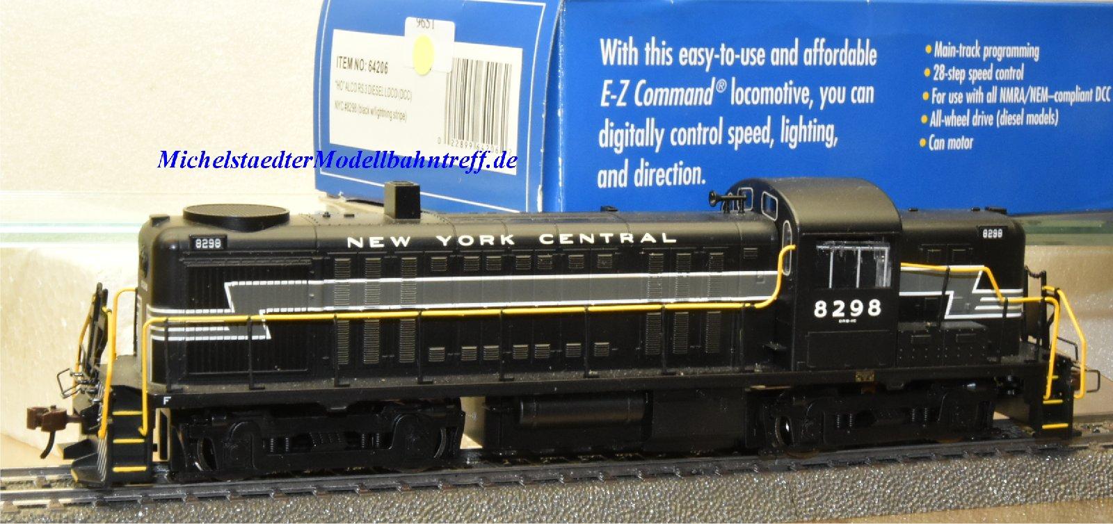 Bachmann 64206 US Diesellok Alco RS 3 der NYC, (9651)