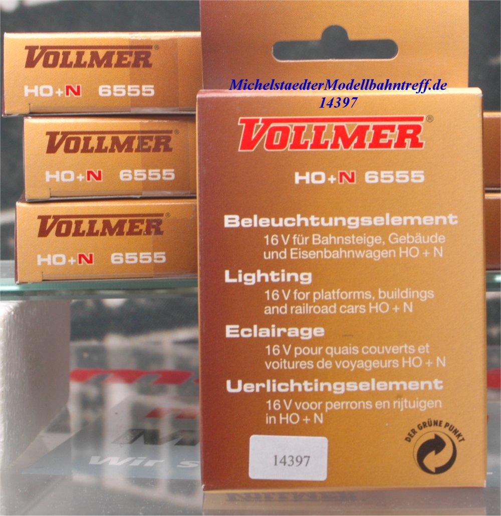 Vollmer 6555 Beleuchtungselement H0 + N, (14397)