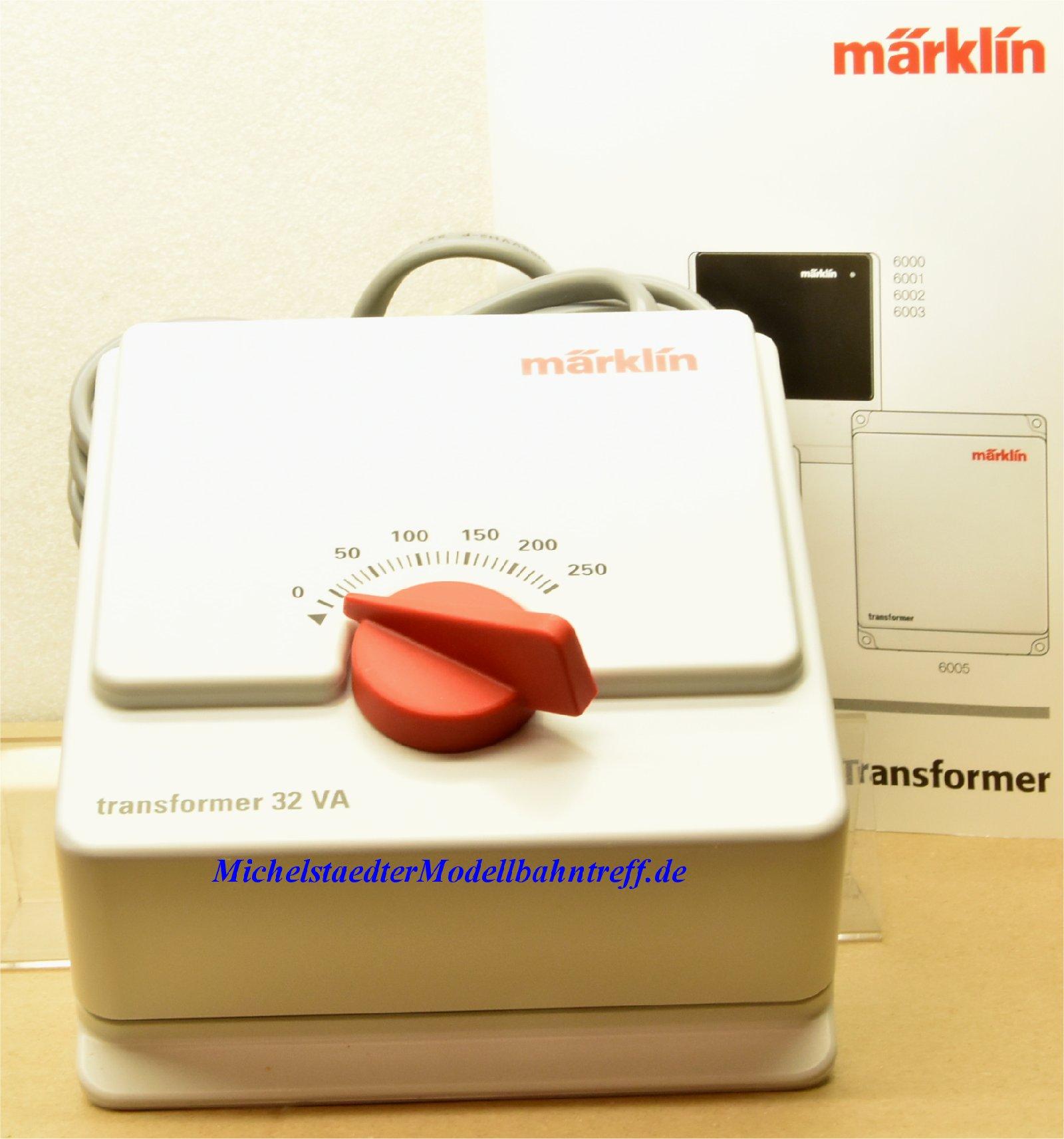 Märklin 6002 und 6647 Betriebsanleitung Transformator Spur H0