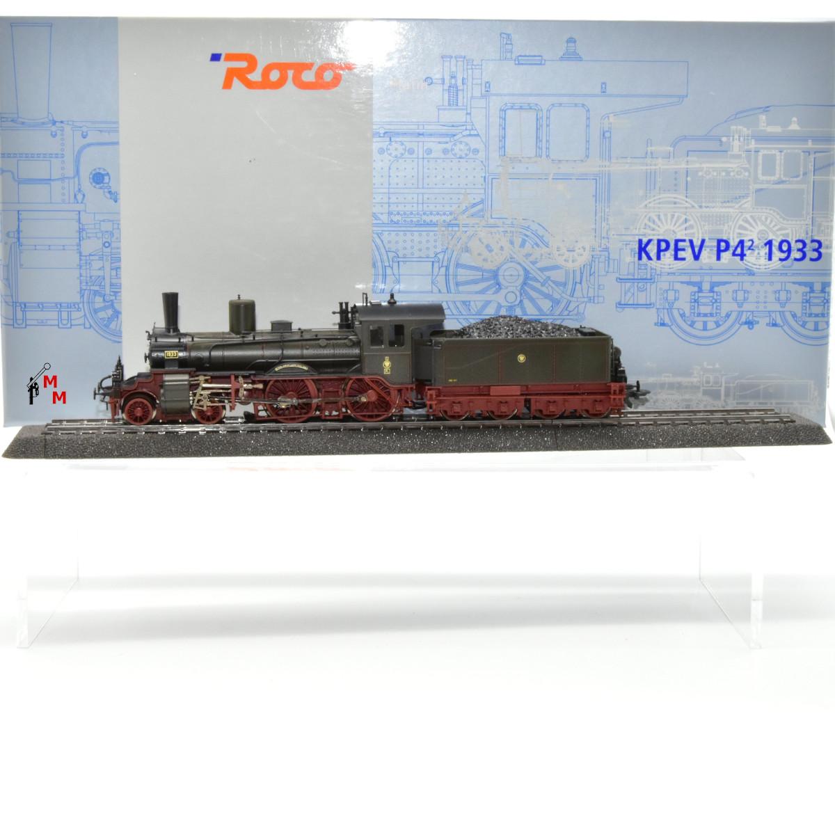 Roco 69302 Dampflok Baureihe P 4 der K.P.E.V., Wechselstrom, digital, Sound, (25759)