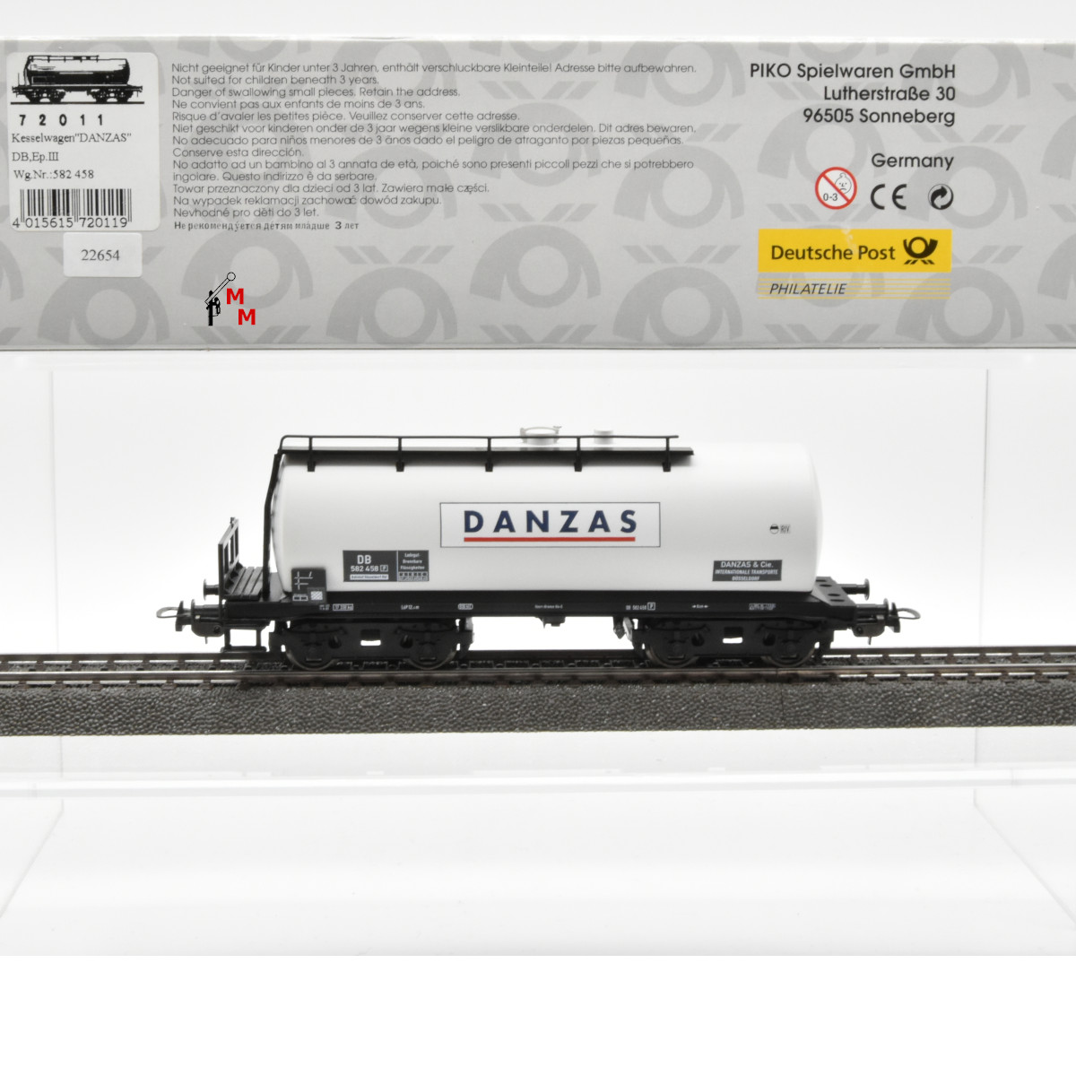 Piko 72011 Kesselwagen DANZAS Ep III, (22654)