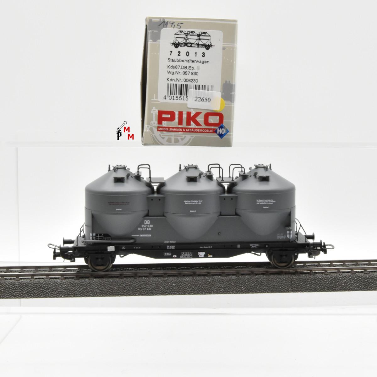 Piko 72013 Staubbehälterwagen der DB, Ep.III, (22650)