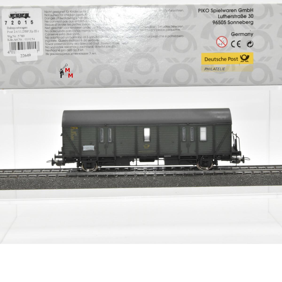Piko 72015 Bahnpostwagen der DBP, Ep.III, (22649)