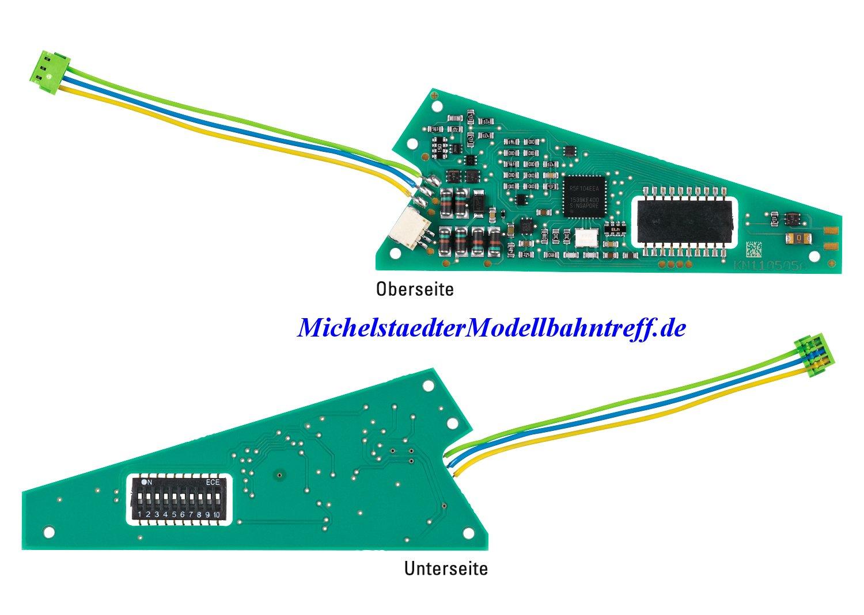(Neu) Märklin 74462 Einbau-Digital-Decoder für C-Gleis Weichen,