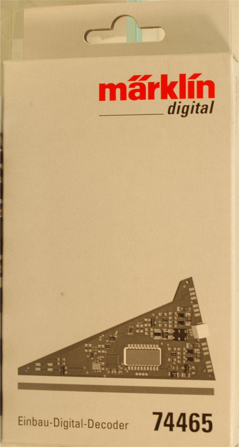(Neu) Märklin 74465 Einbau-Digital-Decoder für C-Gleis Dreiwegeweichen,