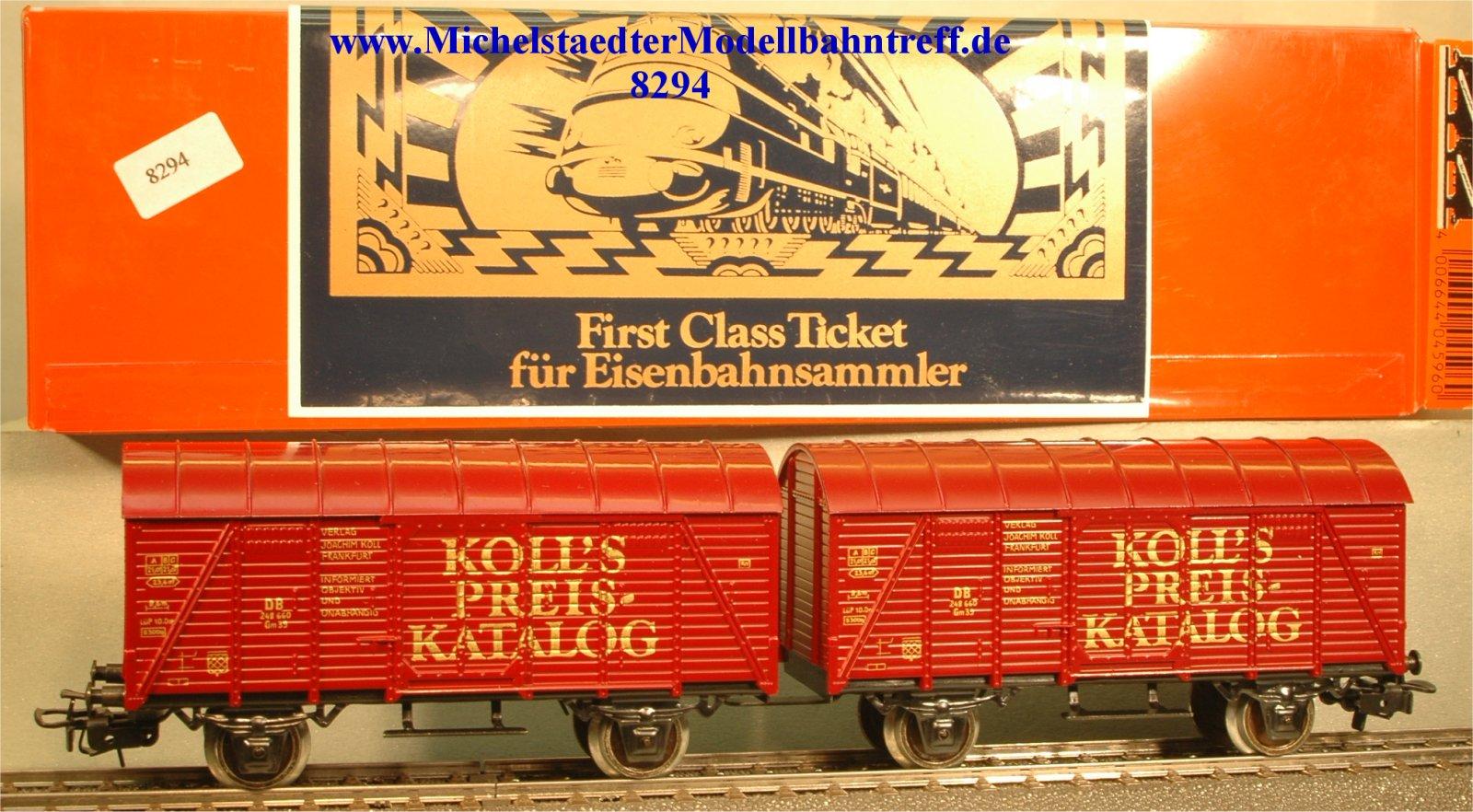 """Primex/Märklin 4596.10 """"Koll's Preis-Katalog"""", (8294)"""