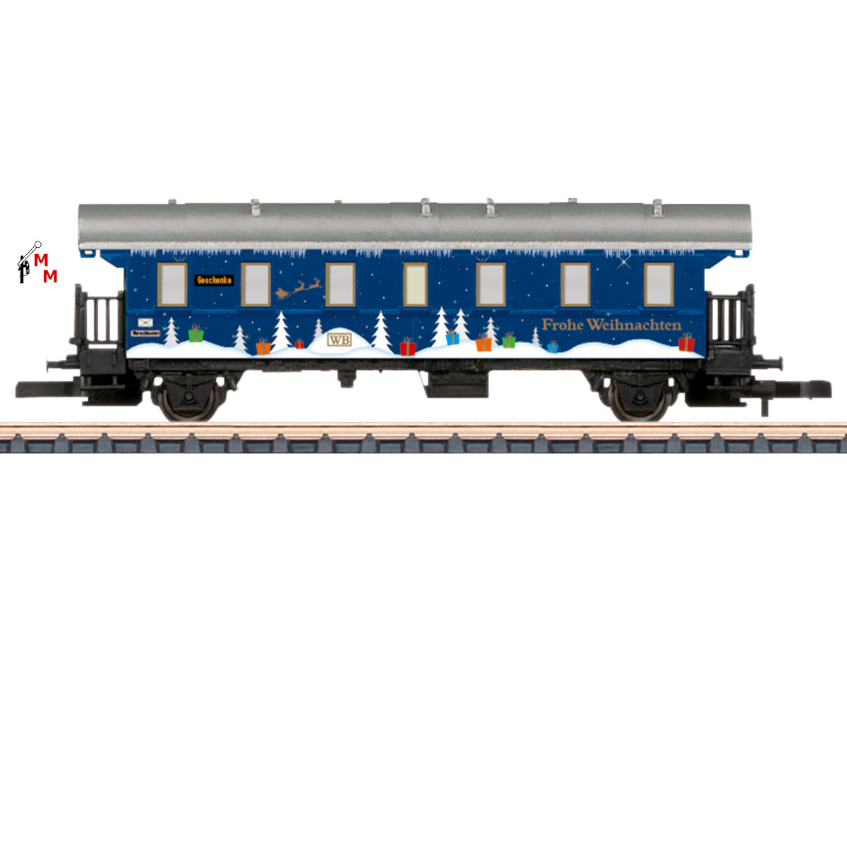 (Neu) Märklin 80631 Spur Z Weihnachtswagen 2021,