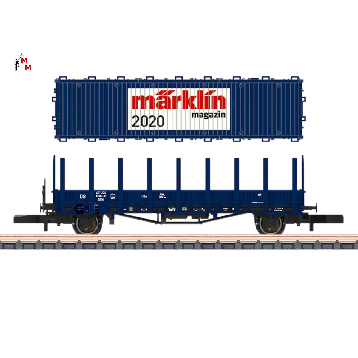 (Neu) Märklin 80830 Märklin Spur Z -Magazin Jahreswagen 2020,