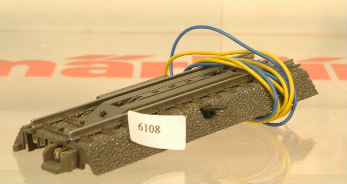 Märklin 24997 Entkupplungsgleis, elektrisch, (6108)
