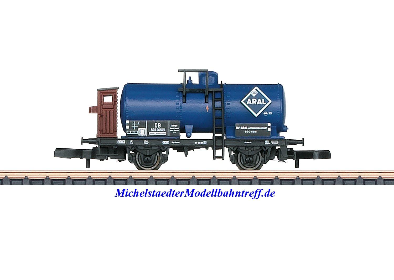 (Neu) Märklin Spur Z 82325 Kesselwagen-Set BV-ARAL-AG, DB, Ep. III,