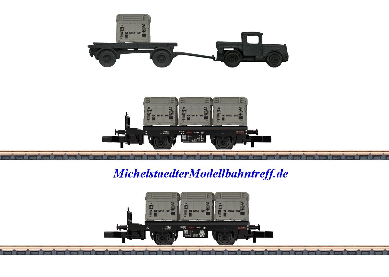 """(Neu) Märklin 82329 Spur Z Güterwagen-Set """"Von Haus zu Haus"""", DB, Ep.III,"""