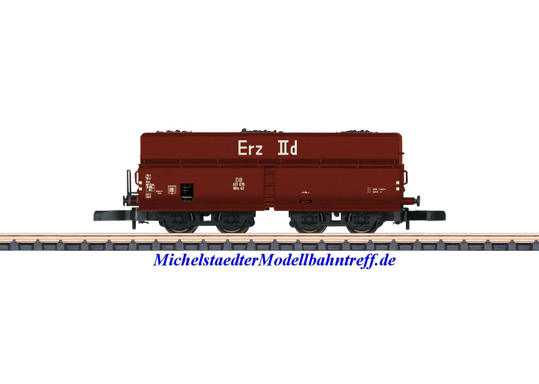 (Neu) Märklin 82803 Spur Z Offener Selbstentladewagen, DB, Ep.IIIa,