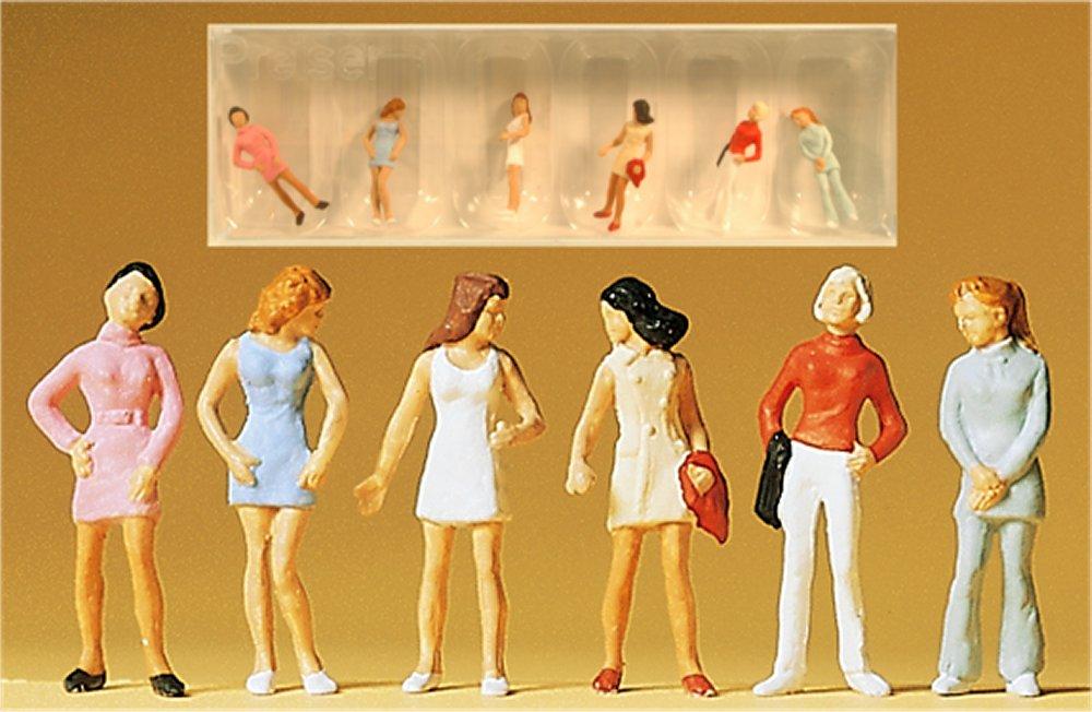 (Neu) Preiser 14006 Teenager Figuren,