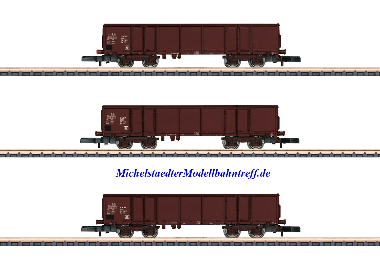 (Neu) Märklin Spur Z 86689 Wagenset Gütertransport DR Ep. IV,