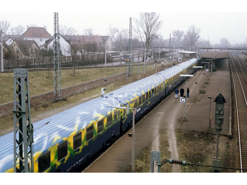"(Neu) Märklin 87300 Personenwagenset ""Touristikzug"","