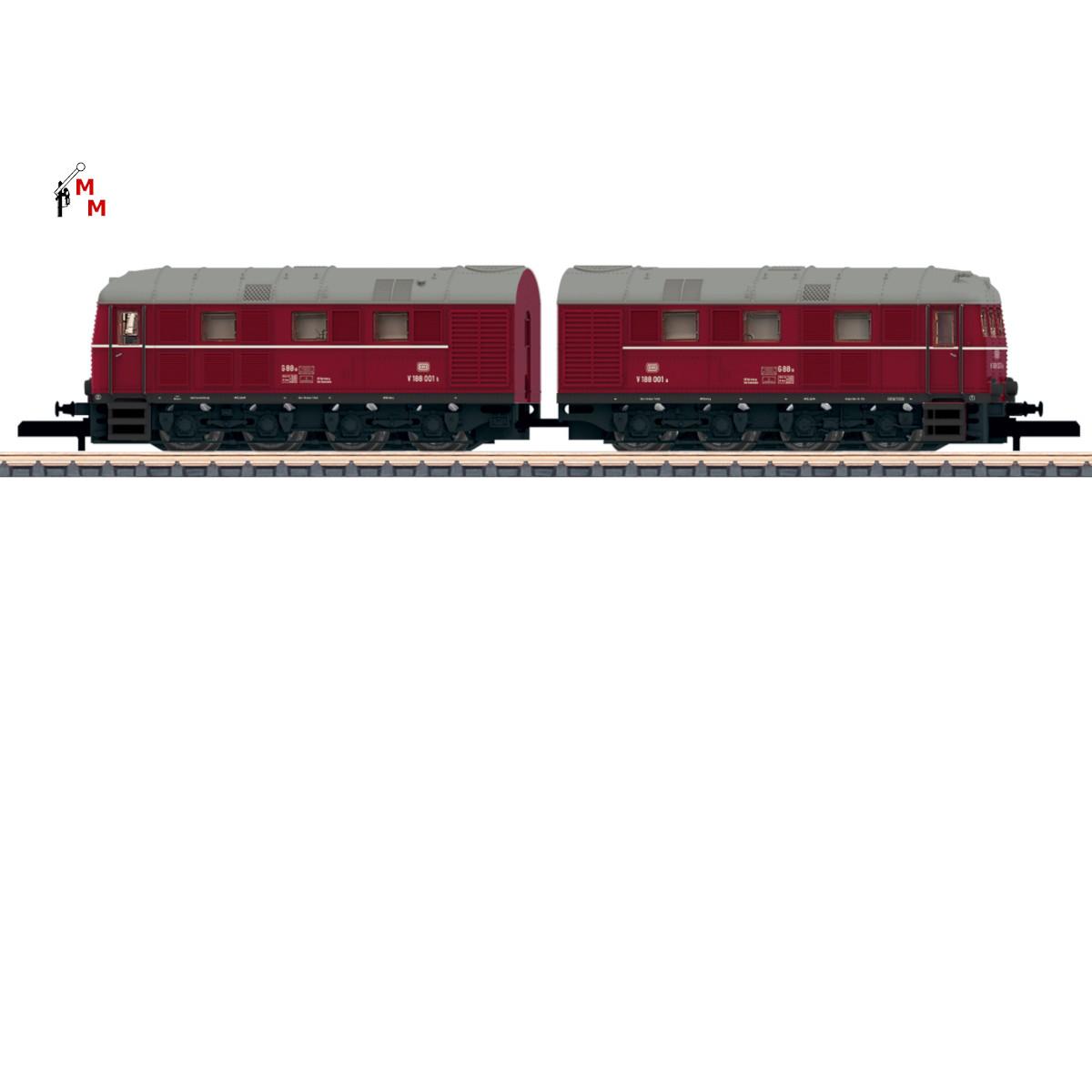 (Neu) Märklin Spur Z 88150 Doppel-Diesellok V 188 der DB,  Insider Modell 2021,