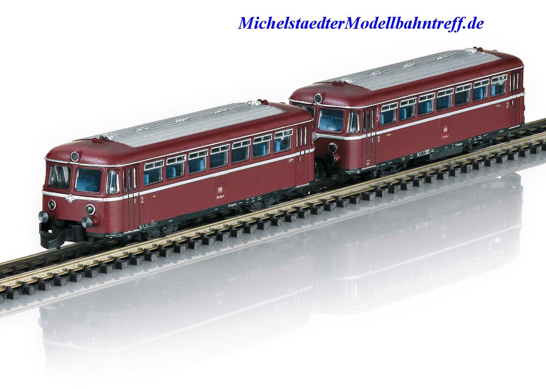 """(Neu) Märklin 88167 Spur Z  Triebwagen-Garnitur """"Schienenbus"""", DB, Ep.IV,"""