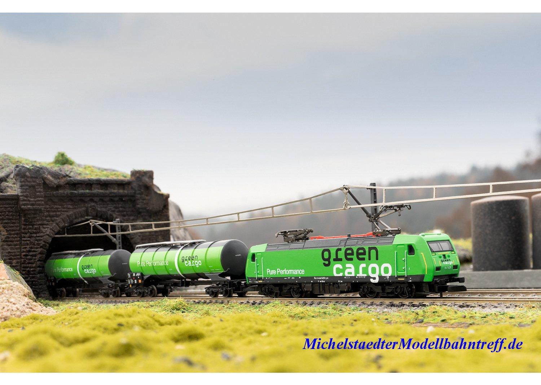 "(Neu) Märklin Spur Z 88484 Elektrolokomotive Re 14 ""Green Cargo"", Ep.VI,"