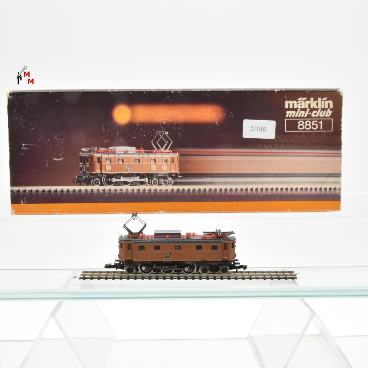 Märklin Spur Z 8856.1 E-Lok Serie Ae 3/6 der SBB, (21016)