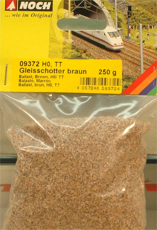 (Neu) Noch 09372 Gleisschotter, braun, H0,TT,