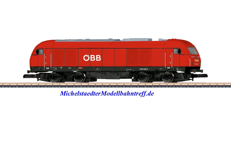 (Neu) Märklin Spur Z 88880 Diesellokomotive Reihe 2016 ÖBB Ep.V,