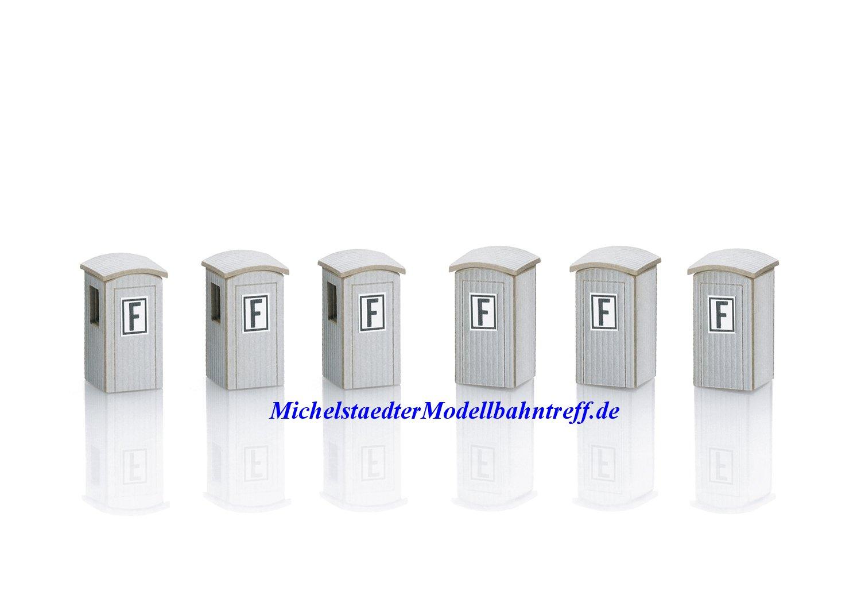 (Neu) Märklin 89011 Spur Z Bausatz von 6 Fernsprechbuden,