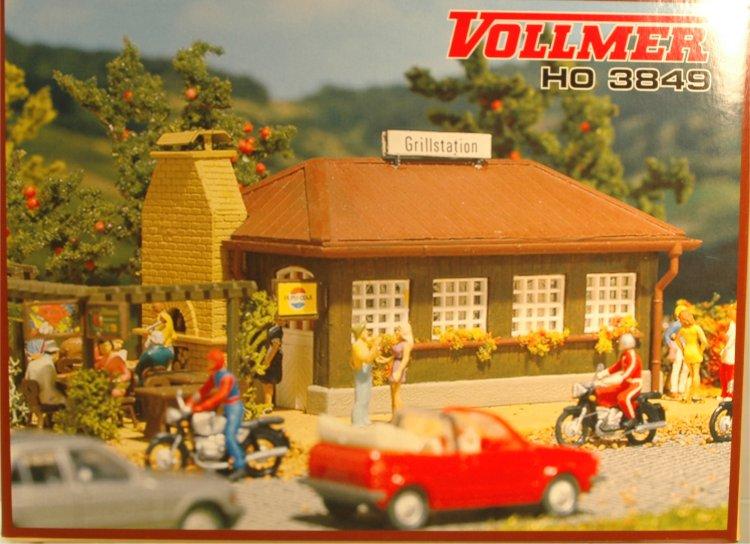 (Neu) Vollmer 3849 H0 Grillstation,