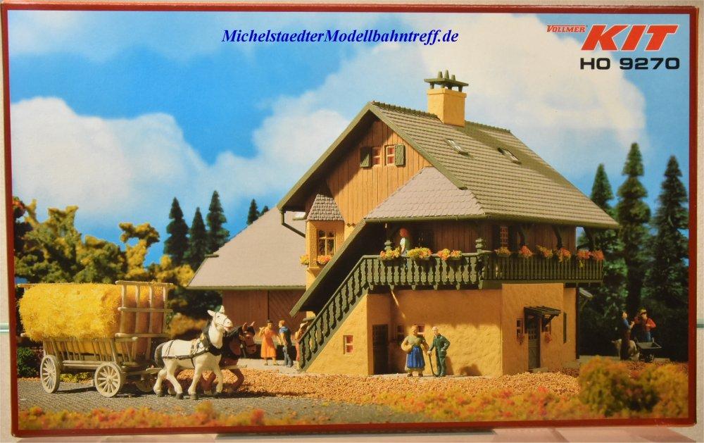 (Neu) Vollmer 49270 Bausatz Bauernhof,