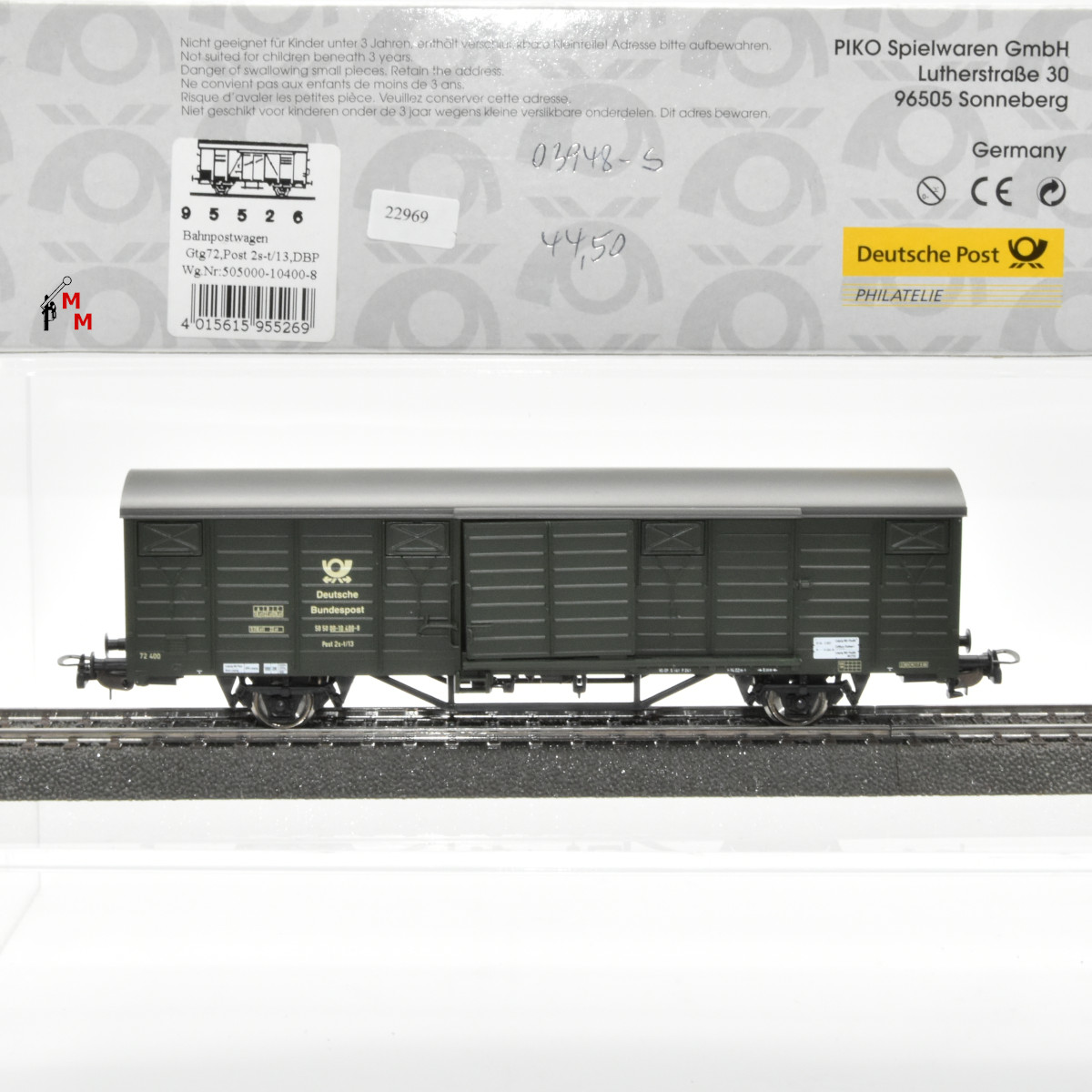 Piko 95526 Bahnpostwagen der DBP, (22969)