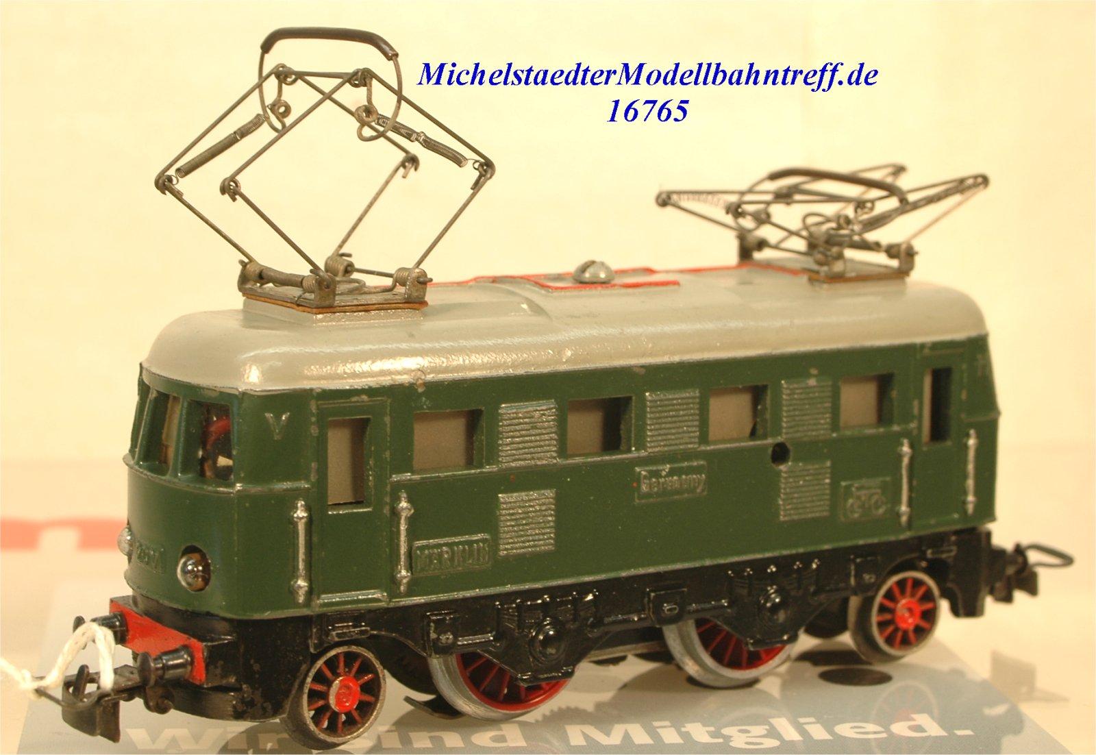 Märklin ES 800.1 E-Lok Achsfolge 1'B'1, (16765)