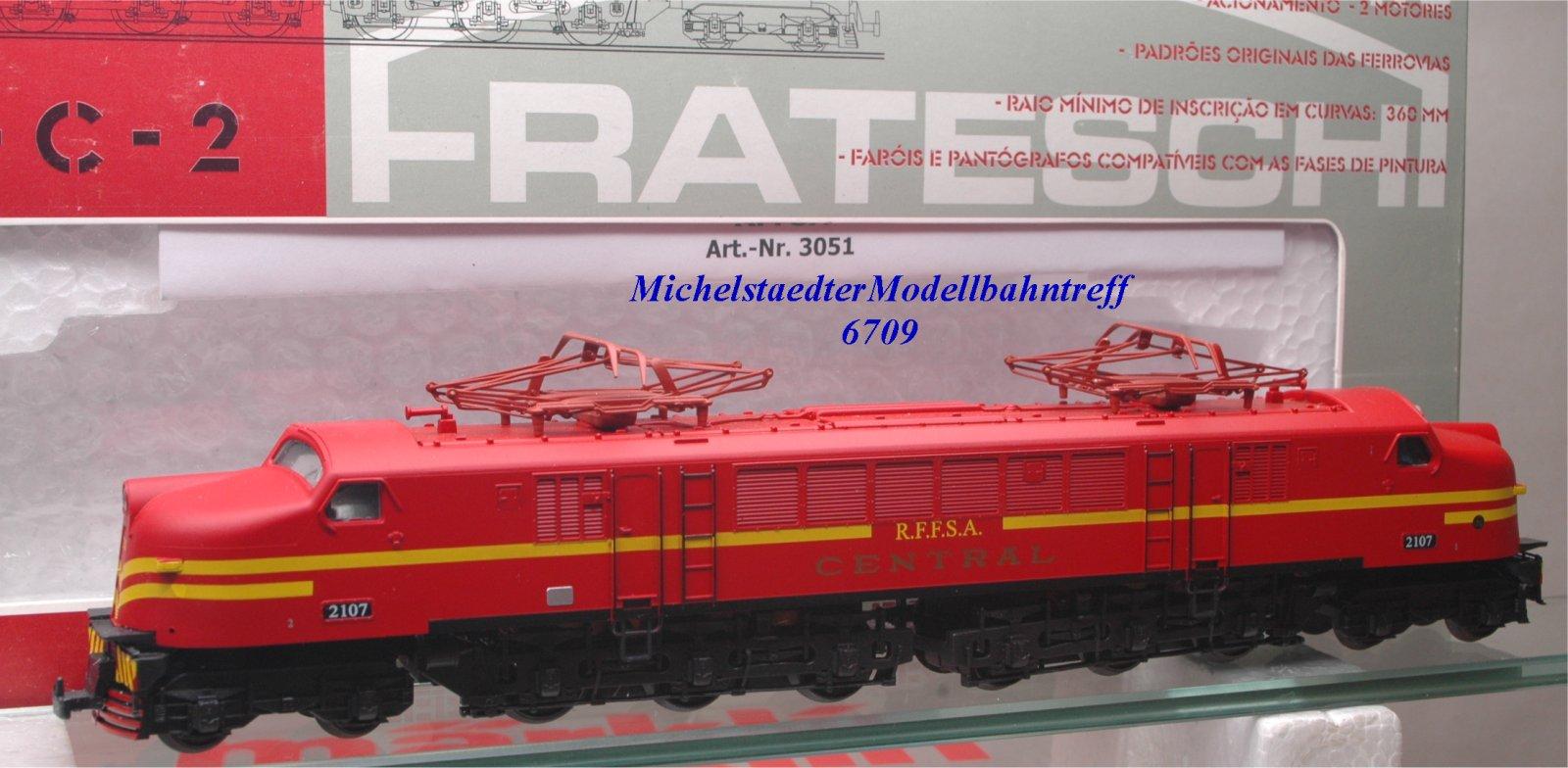 """Fratesche 3051 E-Lok Bauart Typ EP-4 der """"R.F.F.S.A. Central"""", (6709),"""