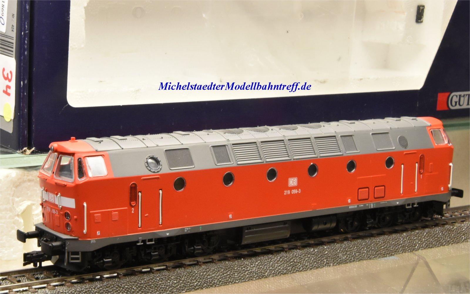 Gützold 33400 Diesellok BR 219 DB AG, digital, (11869)