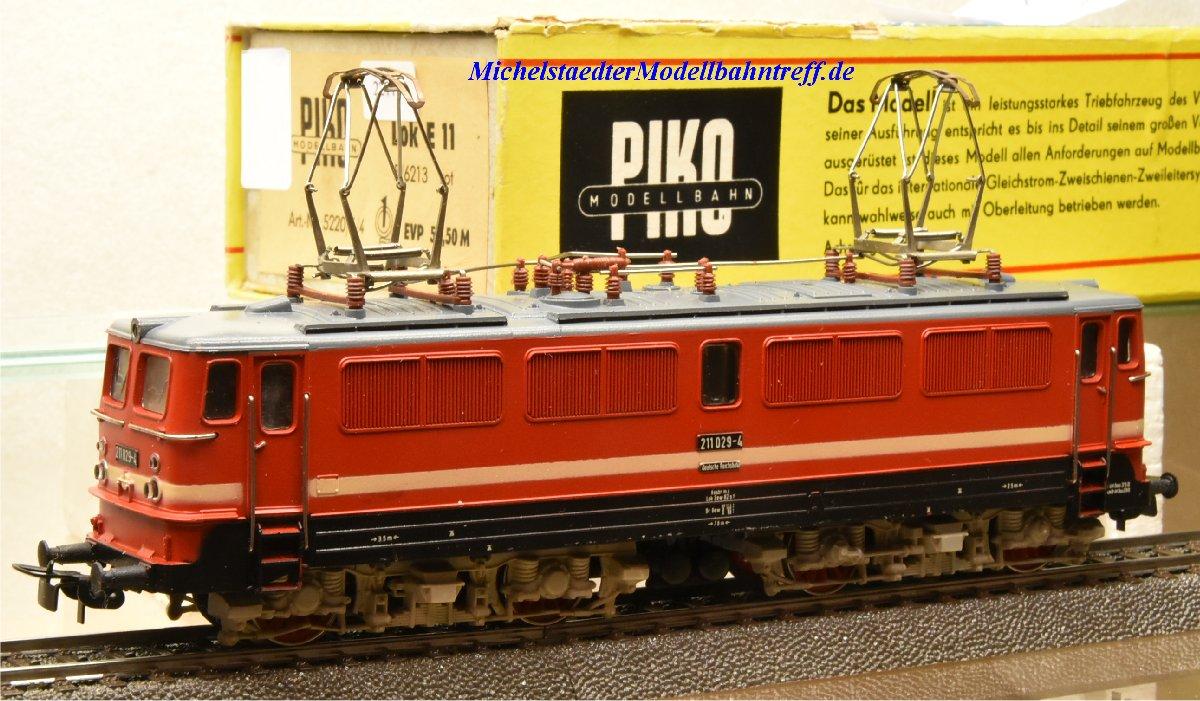 Piko 5220/5/4  E-Lok BR 211 der DR, (22119)